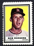 1962 Topps Stamps  Bob Rodgers  Front Thumbnail