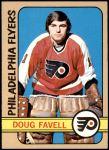 1972 Topps #74  Doug Favell  Front Thumbnail