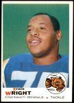 1969 Topps #212  Ernie Wright  Front Thumbnail