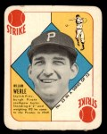 1951 Topps Red Back #33  Bill Werle  Front Thumbnail