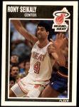 1989 Fleer #83  Rony Seikaly  Front Thumbnail
