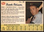 1962 Post Canadian #29  Brooks Robinson  Front Thumbnail