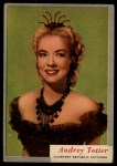 1953 Topps Who-Z-At Star #19  Audrey Totter  Front Thumbnail