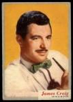 1953 Topps Who-Z-At Star #32  James Craig  Front Thumbnail