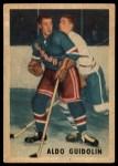 1953 Parkhurst #66  Aldo Guidolin  Front Thumbnail