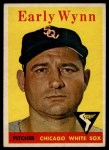 1958 Topps #100 YT Early Wynn  Front Thumbnail