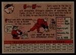 1958 Topps #100 YT Early Wynn  Back Thumbnail