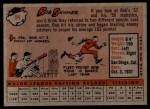 1958 Topps #94  Bob Skinner  Back Thumbnail